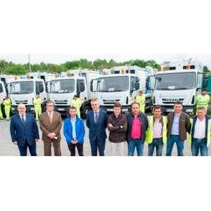 Entrega de RSU para Ourense