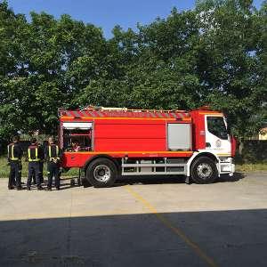 Vehículo nuevo Consorcio Contra Incendios de Lugo