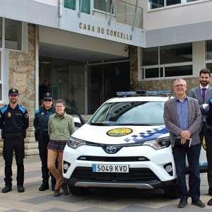 La Policía Local de Carballo estrena vehículo todoterreno