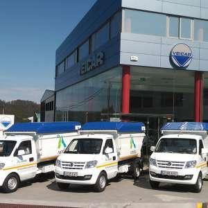 Arteixo estrena 3 nuevos vehículos para el servicio de limpieza.